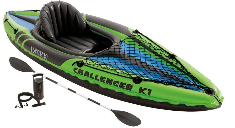 canoë-kayak gonflable Intex K1-68305 Challenger